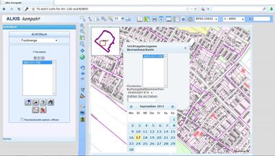 TG_ALKIS Karte  ALKIS-Konverter GIS und CAD400