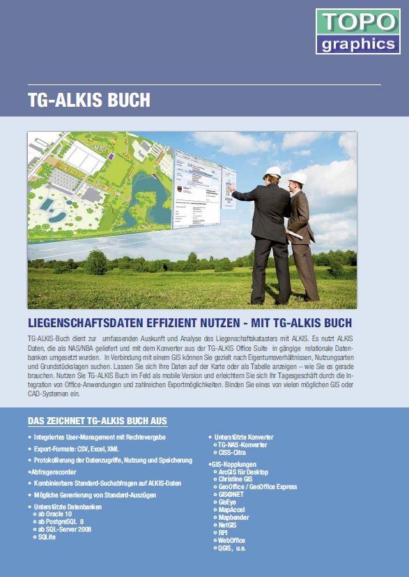Flyer TG ALKIS Buch