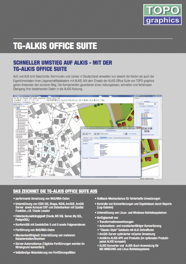 Flyer TG ALKIS Office Suite
