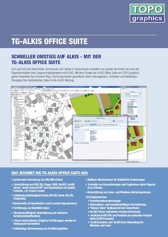 Flyer TG ALKIS Office Suite
