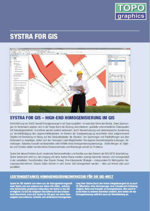 Flyer Systra for GIS